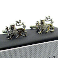 Cufflinks Heraldic Lion Novelty Cuff links by Onyx Art New in Box CK890