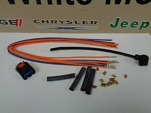 Dodge Chrysler Jeep Short Runner Valve Solenoid Wiring Harness Connector Kit oem