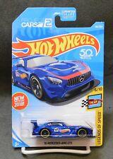 2018 Hot Wheels Car 196/365 '16 Mercedes-AMG GT3  - J Case - SOFT CORNER