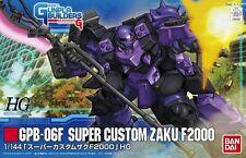 Gunpla Builders 1/144 HG #003 GPB-06F Super Custom Zaku F2000 Model Kit Bandai