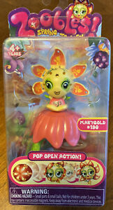 Zoobles, Spring to Life, Petal Point Collection, Marygold #190, New in Box