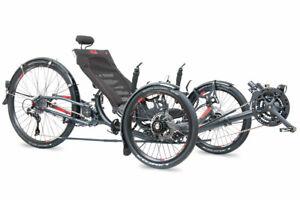 Liegerad Liegedreirad ICE Sprint X 26 customized mit Neodrives E-Antrieb Fahrrad