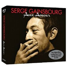 Serge Gainsbourg Avec Amour-L'etonnant/Du Chant A La Une/No2 3-CD NEW SEALED