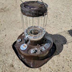 Kero-Sun Moonlighter Kerosene Heater FOR PARTS OR REPAIR Untested -Missing Glass