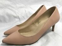 "Jaclyn Smith  Esme  2.5""  High Heel Shoes Women's Size 9M Blush Pink Pumps"