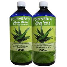ForeverFit 100% IASC Aloe Vera Barbadensis Miller, 2x 1000ml Flasche #30231