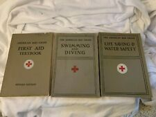 New listing VTG American Red Cross Swimming & Diving, Life Saving & Water Safety First Aid