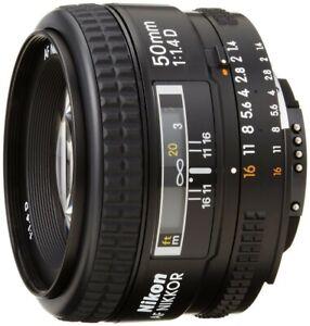 Nikon 50mm 1.4 lens D AF Lens - Mint!