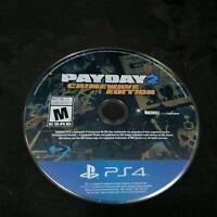 Payday 2: Crimewave (Sony PlayStation 4, 2015) Disc Only