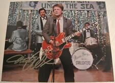 MICHAEL J FOX Autograph BACK TO THE FUTURE Band Scene Photograph Autographed