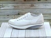 MBT Toning Sneaker Womens Lace Up Gray Leather US 10-10.5