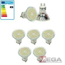 5 x GU10 LED SMD Spot Leuchte Lampe Licht 3W Warmweiß HI-Power 54 SMD´s