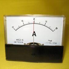Current Meter +/-30A  Amp DC  Analog Display & Shunt Solar Battery 12V 24V 44C2