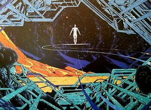 Silver Surfer by Kilian Eng MONDO 11x16 Art Poster Print Marvel Comics