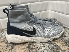 Nike Air Footscape Magista Flyknit Size Wolf Grey Black SZ 12 816560-001