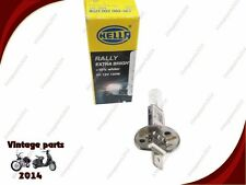 PACK OF HELLA H1 BULB 12V 100W  RALLY EXTRA BRIGHT +10%25 WHITER (10 BULBS)