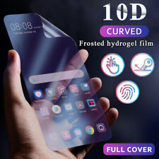 For Samsung Galaxy Note 10 Plus S20 S9 10D Matte Hydrogel Film Screen Protector