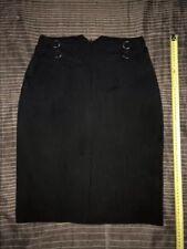 FOREVER NEW Women's Black A Line Skirt Size 10