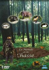 DVD Le monde de la chasse - Coffret 5 DVD