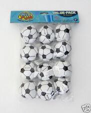 12 Mini Foam Stuffed Soccer Ball Sports Party Goody Loot Bag Filler Favor Supply