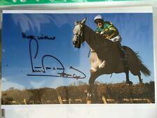 AP McCoy - Horse Racing Legend Signed 10x6 Photo
