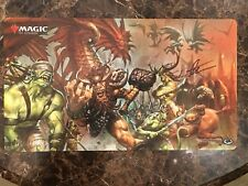 Wizards of The Coast Signed Greg Staples Dissension Promo Poster Art #1 Playmat