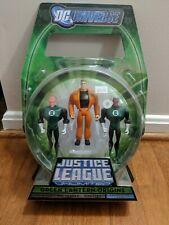 SDCC Exclusive Justice League Unlimited Green Lantern Origins 3PK pack