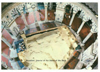 Jerusalem: Interior of The Dome of The Rock, Israel, Palestine Rare Postcard