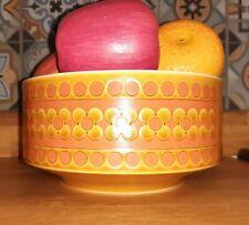 More details for vintage retro hornsea saffron  serving  fruit salad bowl