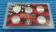 2006 S United States Mint 50 States Quarters Silver Proof Coin Set