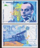 50 FRANCS 1997 FRANCE [NEUF / UNC] Saint Exupéry - P157Ad (K 038949116)