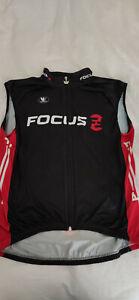 Vermarc Cycling Gillet Sleeveless Jacket Focus XL