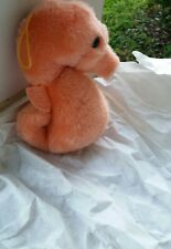 Seahorse dankin 1982 plush stuffed animal pink collectible rare nostalgic toy