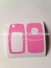 Carbon Pink Schlüssel VWSkoda Beetle T4 Passat Polo VW Golf4 5 6 IV Bora G 3B T5
