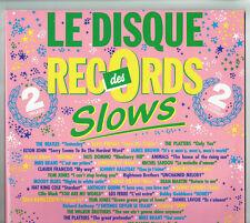 2 X 33T DISQUE RECORDS DES SLOWS LP BEATLES HALLYDAY PRESLEY -P LEDERMAN 2610633