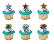 Finding Dory Nemo cupcake rings (24) party favor cake topper 2 dozen