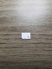 One Used T-Mobile Nano Sim Card
