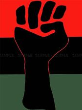ADVERT CIVIL RIGHTS BLACK POWER FIST AFRICAN AMERICAN ART POSTER PRINT LV6966