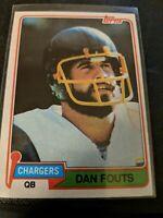 1981 Topps #265 Dan Fouts - Changers