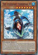 YU-GI-OH CARD: THE LEGENDARY FISHERMAN III - SP17-EN028 - 1st EDITION