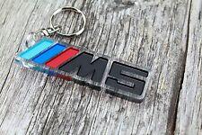 BMW M5 POWER Keychain Motorsport Msport Llavero porta-chaves Schlüsselanhänger