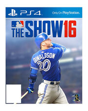 NEW MLB 16: The Show (Sony PlayStation 4, 2016) Major League Baseball PS4
