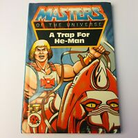 A TRAP FOR HE-MAN 1983 Ladybird Book He-Man Masters of the Universe MOTU #7