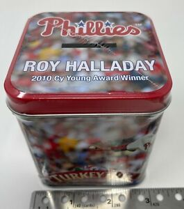 Phillies Roy Halladay Commemorative Baseball Phillies NEW SGA