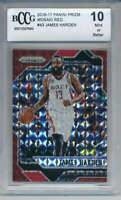 2016-17 Panini Prizm Mosaic Red #43 James Harden BCCG 10 Houston Rockets