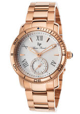 Lucien Piccard 40031-RG-22S Women's Misty Rose Rose-Tone Stainless Steel