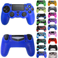 Silicone Rubber Skin Cover Protective Soft Case for Playstation 4 PS4 Controller
