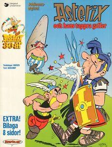 ASTERIX ALBUM 01 - OCH HANS TAPPRA GALLER - Goscinny / Uderzo (SWEDEN 1989)