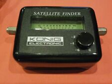 Konig Sat Finder Satellite Signal Meter For Satellite Dish Alignment Sky Freesat