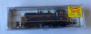 N-scale Life Like Chesapeake & Ohio Locomotive #5093 Item C&O #7506 tested
